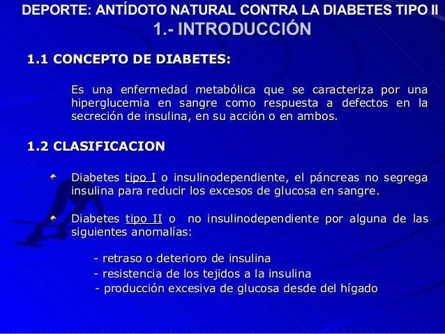 Diabetes y deporte presentacion