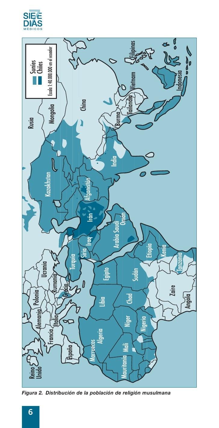 Figura 2. Distribución de la población de religión musulmana     6