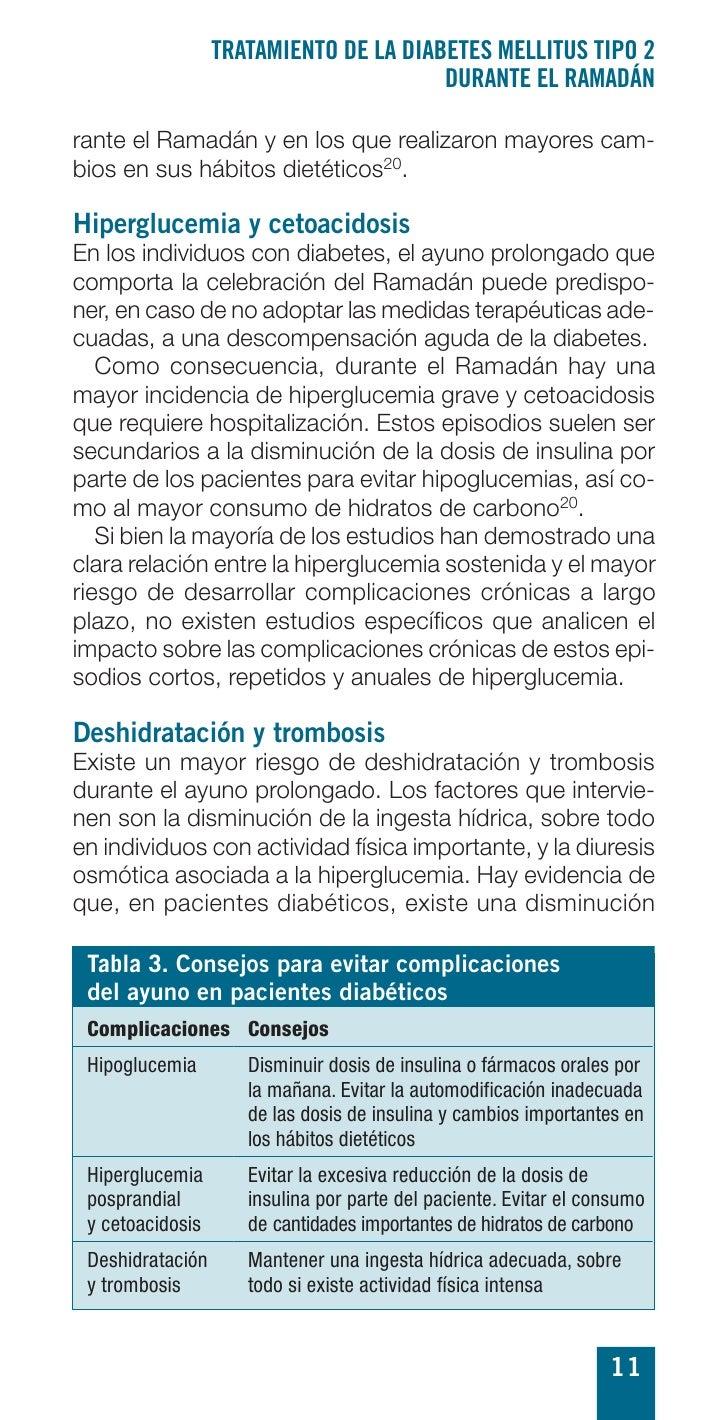 TRATAMIENTO DE LA DIABETES MELLITUS TIPO 2                                         DURANTE EL RAMADÁN  rante el Ramadán y ...