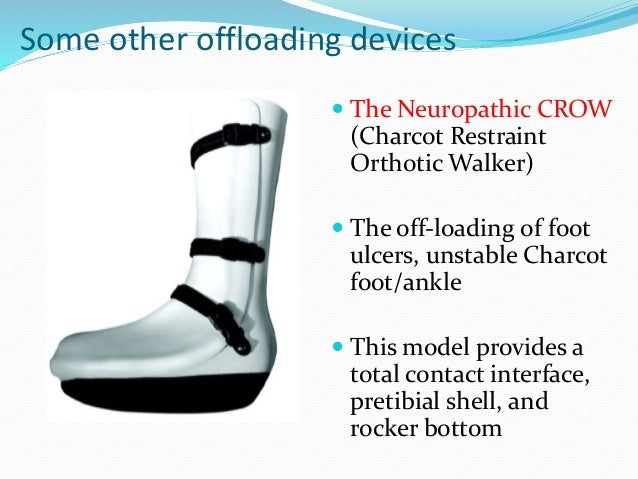 off loading for the prevention of diabetic foot ulceration 21 diabetic foot ulcer contents non-operative management of diabetic foot ulcers focuses on prevention of future ulcers off-load pressure.