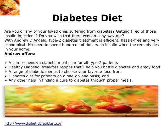 Breakfast Recipes For Diabetics Type 2