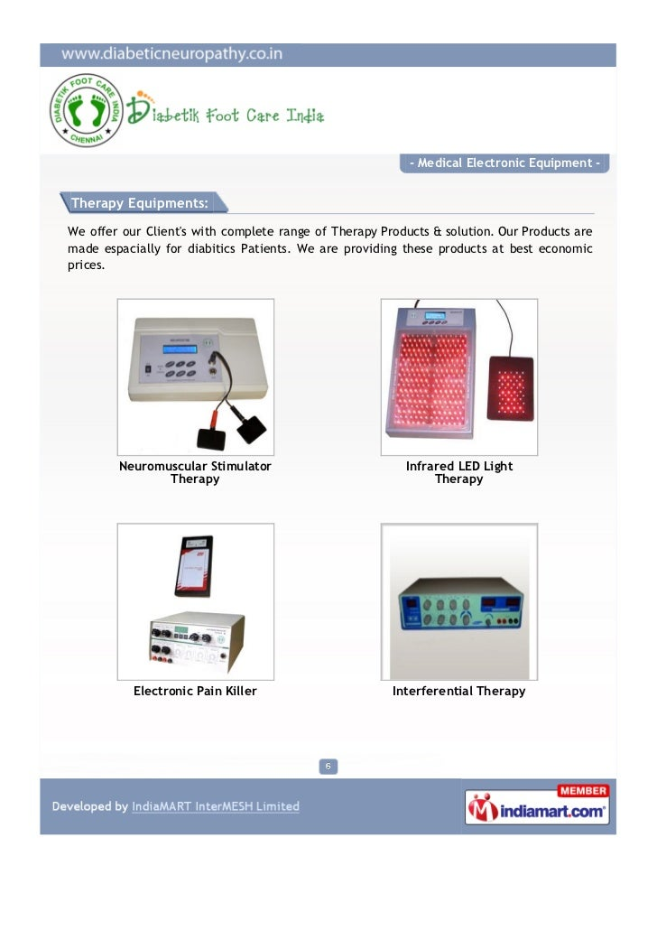 Diabetik Foot Care Chennai Medical Electronic Equipments