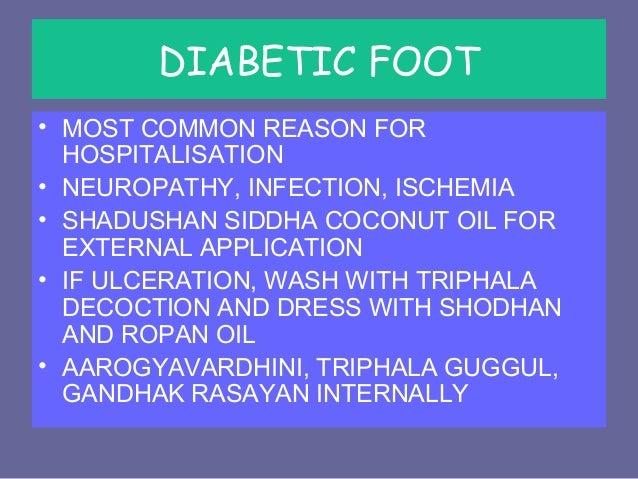 Diabetic neuropathy - Ayurvedic management