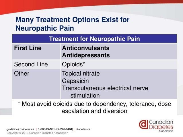 neuropathic pain treatment options