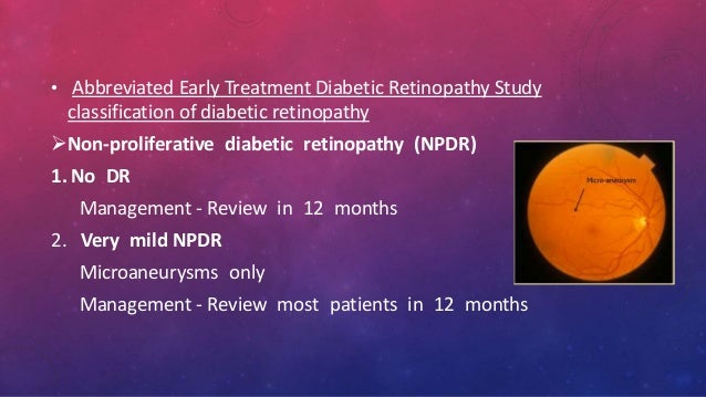 Early Treatment Diabetic Retinopathy Study (ETDRS) - Full ...