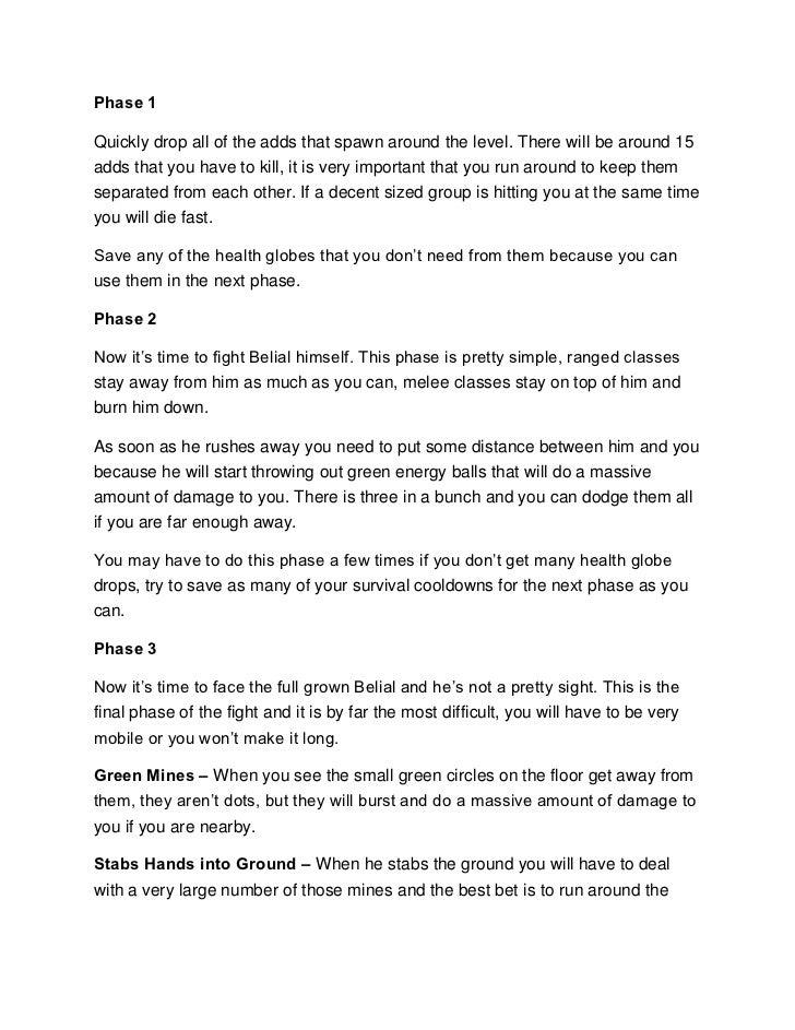 Diablo 3 Advanced Strategy Guide