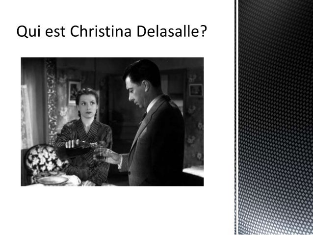 Diabolique movie powerpoint presentation for french class