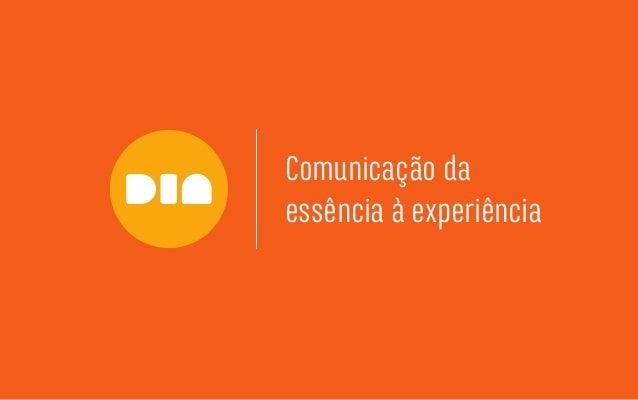 Comunicação da essência à experiência