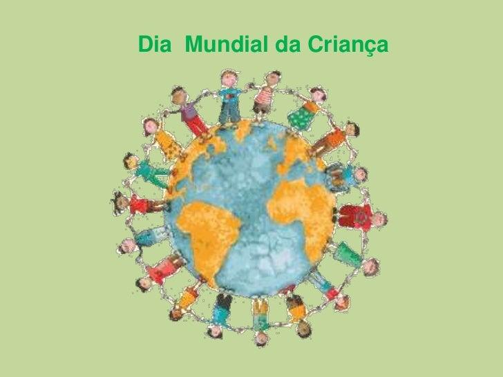 Dia  Mundial da Criança<br />