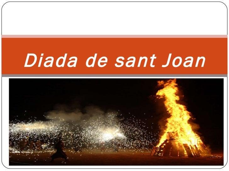 Diada de  sant  Joan
