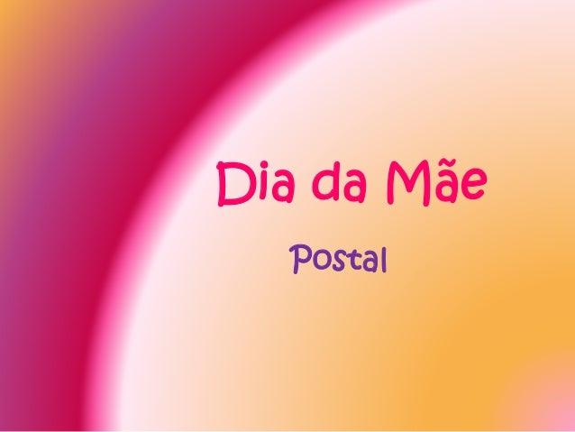 Dia da Mãe Postal