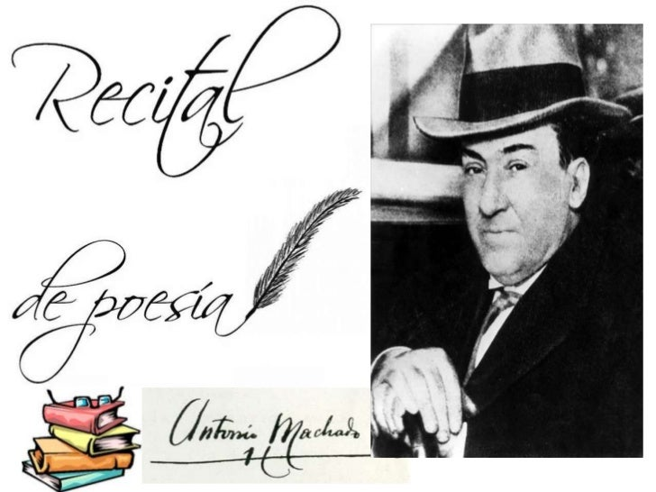Me llamo AntonioMachado. Soy poeta.Nací el 26 de Julio de  1875 en Sevilla. Fui el segundo de  cinco hermanos.