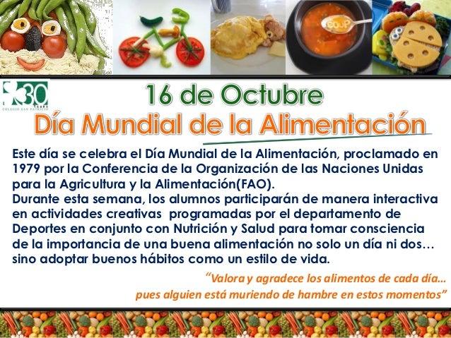 Dia De La Alimentacion 2012 Pdf