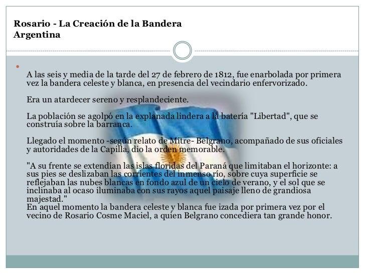 Dia de la Bandera Argentina para el 2º ciclo.
