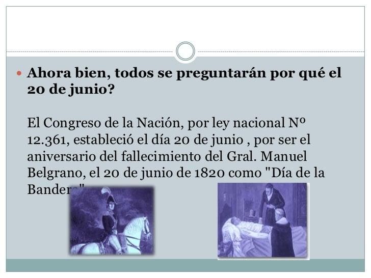 lamina sobre el dia de la bandera argentina dia de la