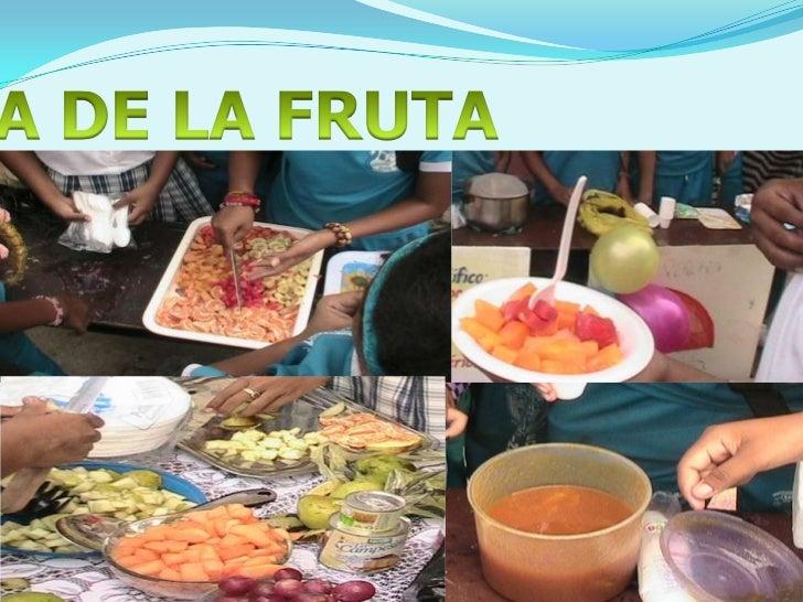 DIA DE LA FRUTA<br />