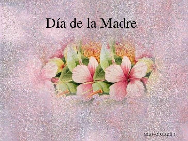Día de la Madre<br />