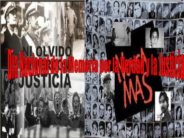 •   El 24 de marzo de 1976 un golpe de Estado cívico-militar derrocó al    gobierno constitucional de la presidenta María ...