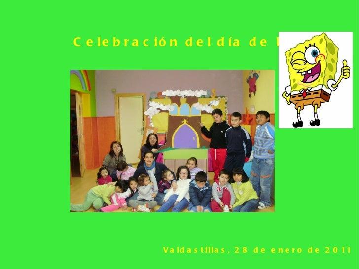 Celebración del día de la paz   Valdastillas, 28 de enero de 2011
