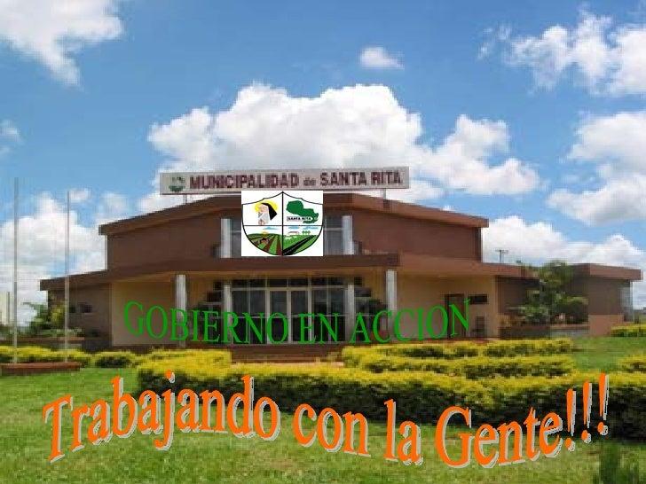 CUADRO DE DISTRIBUCION DE INGRESOS DE LA MUNICIPALIDAD DE SANTA RITA PREVISTO PARA             EL EJERCICIO 2.008  INGRESO...