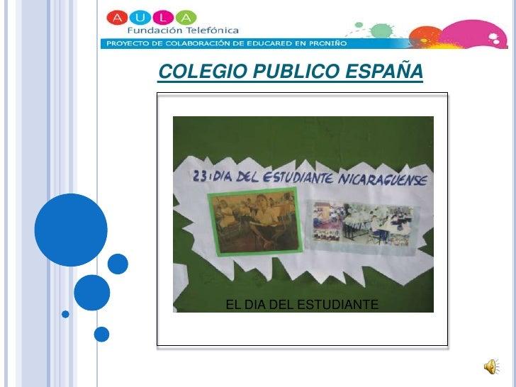 COLEGIO PUBLICO ESPAÑA<br />