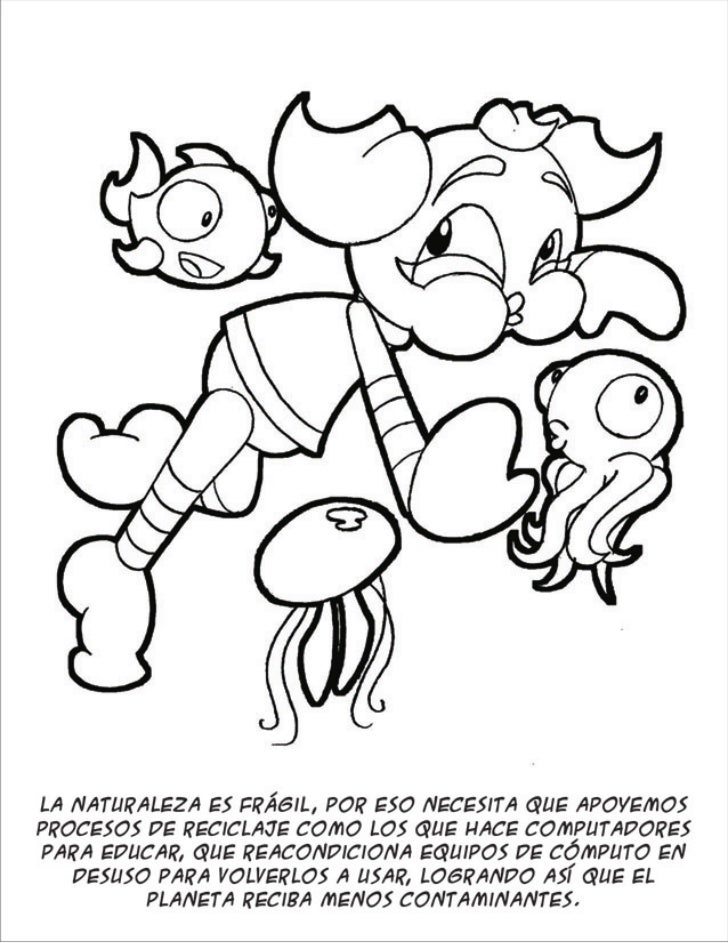 Libro Dia Del Niño Para Colorear