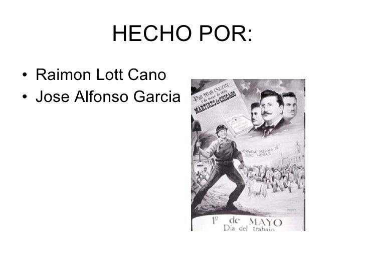 HECHO POR: <ul><li>Raimon Lott Cano </li></ul><ul><li>Jose Alfonso Garcia </li></ul>
