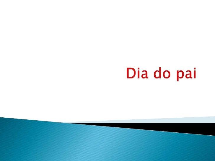 Dia do pai - Rodrigo Carvalheira