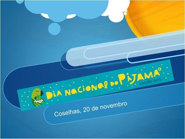No passado dia 20 de novembro, comemorou-se na EB1 de Coselhas. Para além de uma feição lúdica e solidária, esta iniciativ...