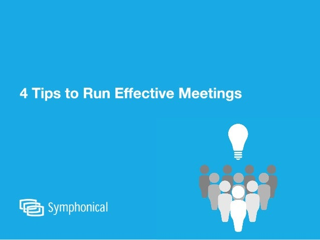 Many experts estimate that half of all time spent in meetings is wasted...