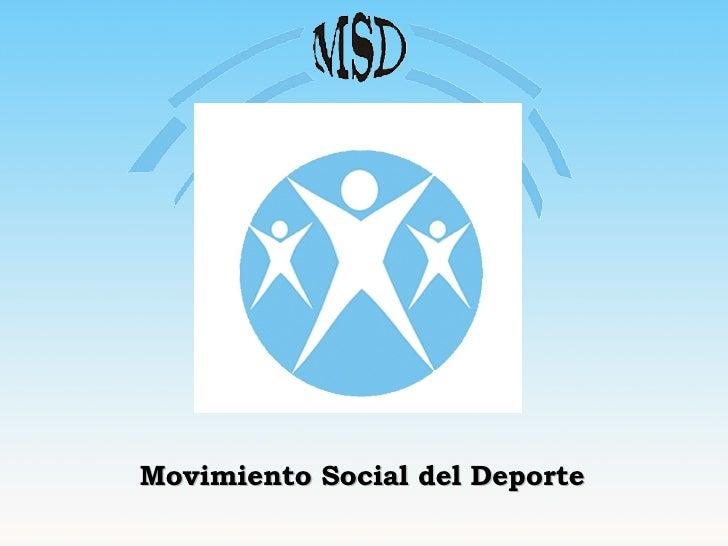 Movimiento Social del Deporte