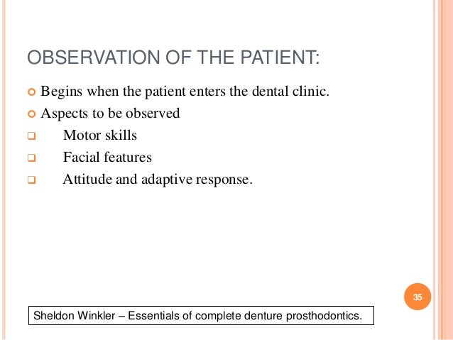 Diagnosis and treatment plan of complete denture 34 35 fandeluxe