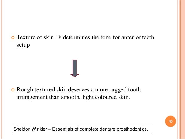 Diagnosis and treatment plan of complete denture winkler essentials of complete denture prosthodontics 40 fandeluxe