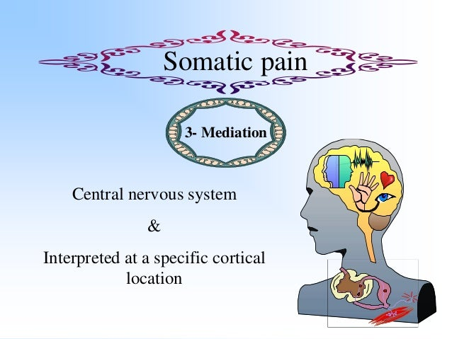 Somatic pain 4- Specificity Precisely described as SharpKnifelikeCutting