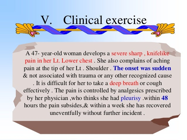 How should the woman's physician have acted differently ?? V. Clinical exercise