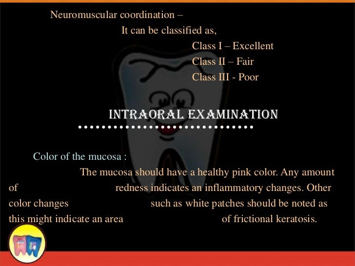Neuromuscular coordination –                       It can be classified as,                                         Class ...