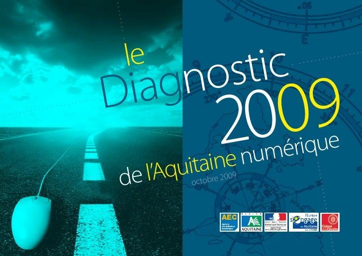 le  iagnostic D              2009mérique         itaine nu de l'Aqu        octobre 20                  09