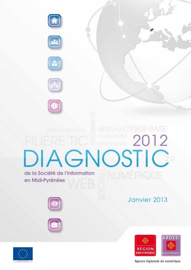 Janvier 2013  Agence régionale du numérique
