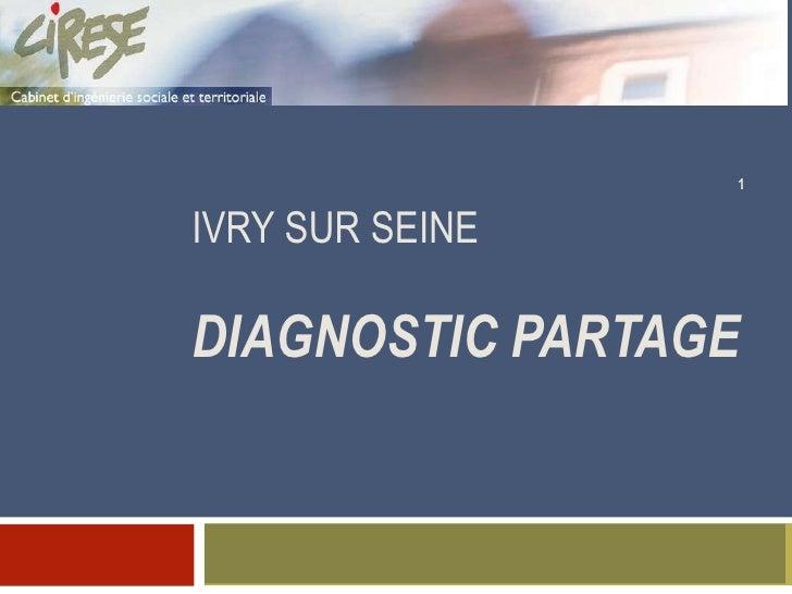 Diagnostic Projet éducatif local Ivry sur Seine