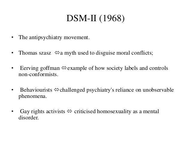 Dsm i homosexuality statistics