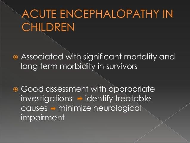 acute encephalopathy