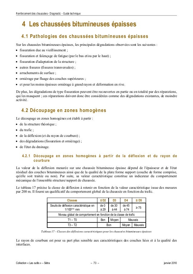 CHAUSSÉES DE DES TÉLÉCHARGER RENFORCEMENT DIAGNOSTIC