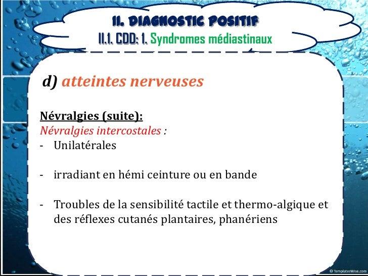 Diagnostic des tumeurs médiastinales