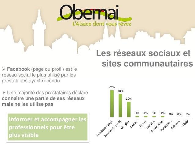 Site mobile                                        Prestataires possédant un site mobile La grande majorité des          ...