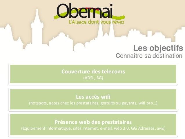 La mise en oeuvrePrésence web du territoireLe site web de la ville et des communes du Pays de Sainte Odile, les plateforme...