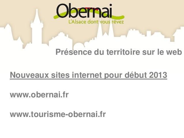 1 chaîne Office de Tourisme Obernai sur YouTube :                                                               Partage de...
