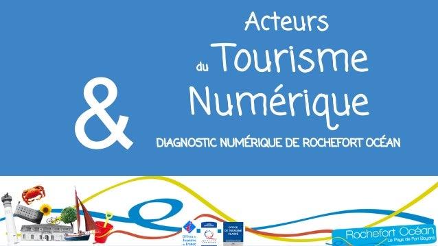 Acteurs du Tourisme Numérique DIAGNOSTIC NUMÉRIQUE DE ROCHEFORT OCÉAN&