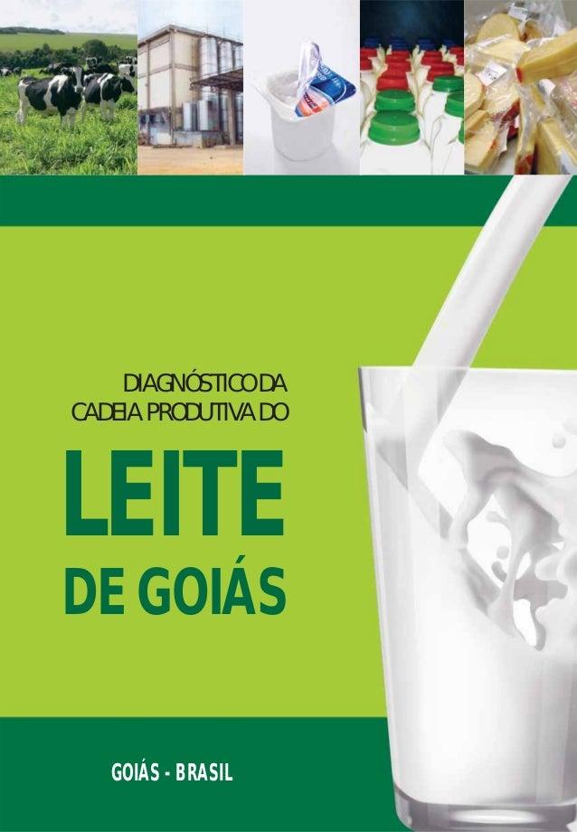 GOIÁS - BRASIL DIAGNÓSTICODA CADEIAPRODUTIVADO LEITE DEGOIÁS