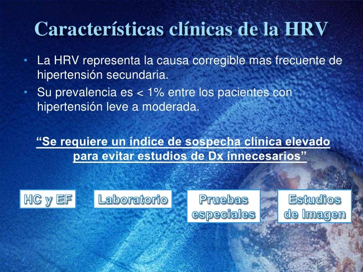Diagnóstico de Hipertensión Renovascular Slide 2