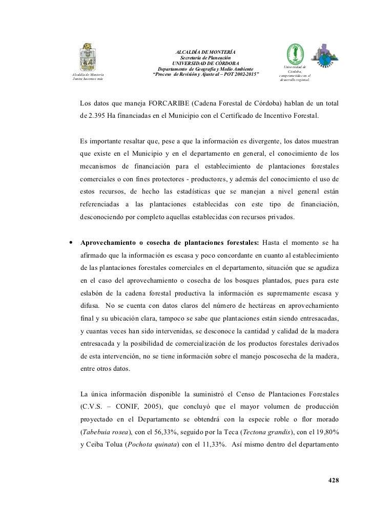 ALCALDÍA DE MO TERÍA                                        Secretaría de Planeación                                    U ...